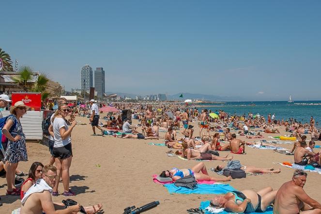 Barcelona stranden-5452